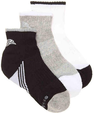 Stride Rite Made 2 Play Charlie Infant, Toddler, & Youth Ankle Socks - 3 Pack - Boy's