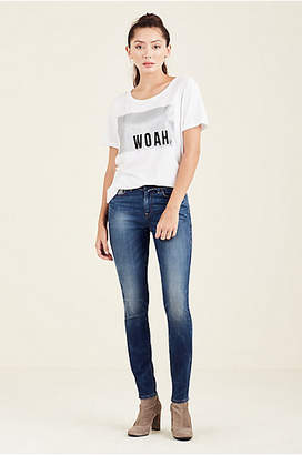 True Religion WOMENS GLITTER GRAPHIC TEE