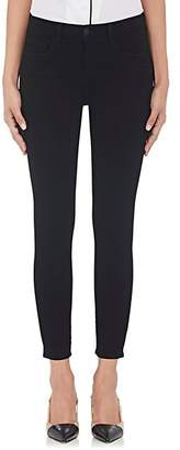 L'Agence Women's Margot Skinny Jeans - Black