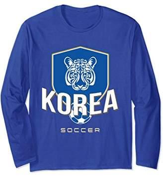 Korean Football Jersey 2018 South Korea Soccer Long Sleeve