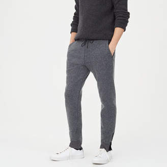 Club Monaco Brushed Zip Sweatpant