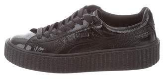 FENTY PUMA by Rihanna Patent Leather Low-Top Sneakers w/ Tags