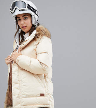 Burton Snowboards Vallah jacket in beige