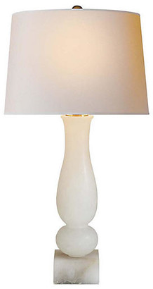 Visual Comfort & Co. Balustrade Contemporary Table Lamp - Natural