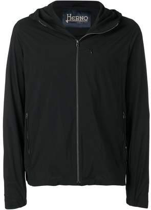 Herno hooded rain jacket