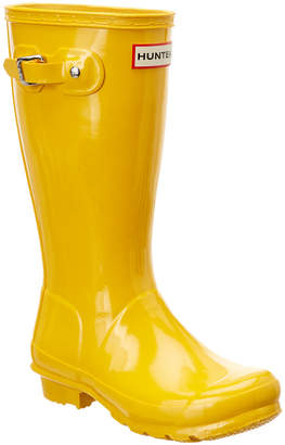 Hunter Kids' Original Gloss Boot