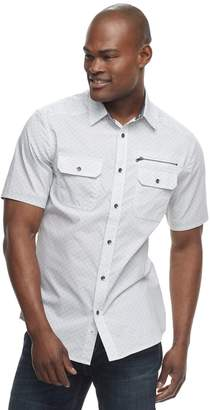 Rock & Republic Men's Geo-Print Button-Down Shirt