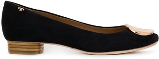 Tory Burch branded ballerina shoes