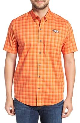 Cutter & Buck Denver Broncos - Fremont Regular Fit Check Sport Shirt