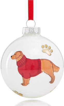 Holiday Lane Golden Retriever Ornament