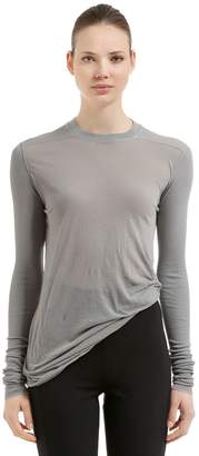 Rick Owens Jersey Long Sleeve T-Shirt