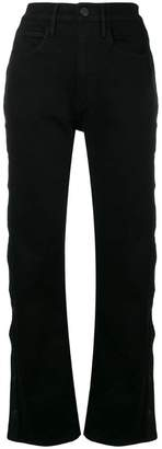 3x1 high waisted flared jeans