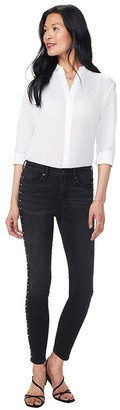 NYDJ Ami Skinny Jeans with Boho Studded Side Seam