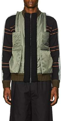 Craig Green Men's Hybrid Bomber Jacket