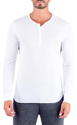 Unsimply Stitched Super Soft Long Sleeve Lounge Henley