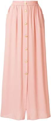 Pierre Balmain slit front maxi skirt