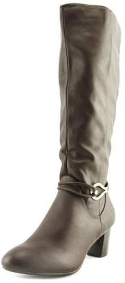 Karen Scott Gaffar Women US 6.5 Brown Knee High Boot