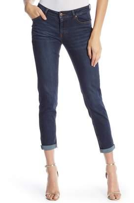Joan Vass Girlfriend Cropped Jeans