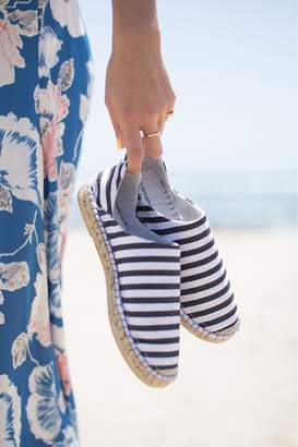French Connenction Adeline Stripe Canvas Espadrilles