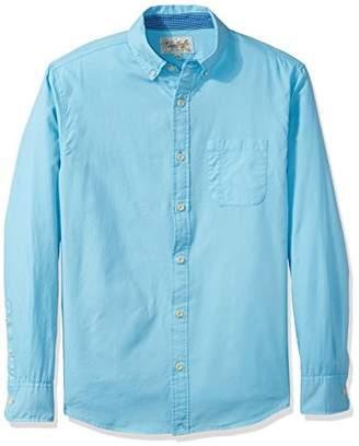 Margaritaville Men's Long Sleeve Paradise Oxford Shirt