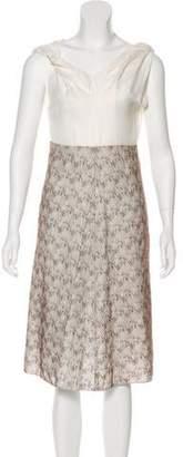 Zero Maria Cornejo Sleeveless Knee-Length Dress