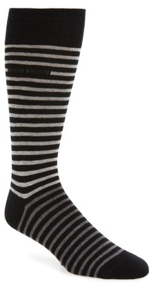 Men's Boss Rs Design Stripe Socks $15 thestylecure.com