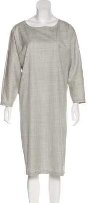 Max Mara Wool Long Sleeve Dress