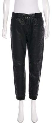 Mother Vegan Leather The Champ Pants