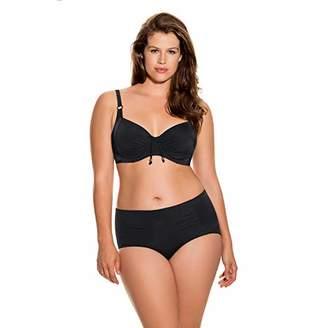 Dorina Women's Fiji Bikini Hipster D17022A Bottoms, (Black), (Size:)