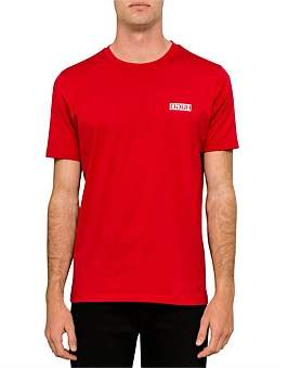 HUGO BOSS Durned Jersey Reverse Logo T-Shirt