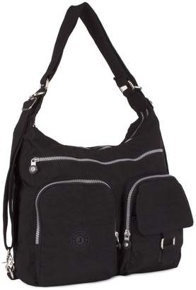 d776c357970e at Amazon Canada · Big Handbag Shop Rainproof Fabric Zip Pockets  Convertible Backpack Cross Body Messenger Shoulder Bag