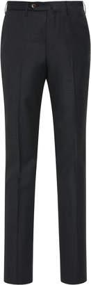 Pt01 PT 01 Flat-Front Gentleman-Fit Flannel Trousers