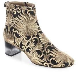 Tory Burch Carlotta Embroidered Booties