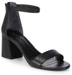 Seychelles Pandemonium Leather Ankle-Strap Sandals