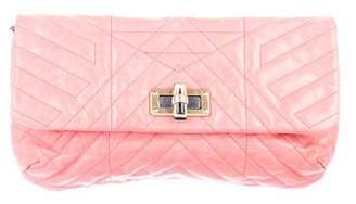 Lanvin Quilted Happy Pop Clutch