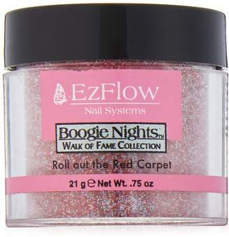 Red Carpet EZ FLOW Walk of Fame Glitter False Nails, Roll Out The