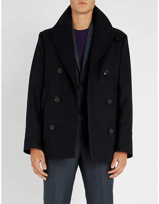 Tiger of Sweden Opalon double-breasted wool-blend peacoat