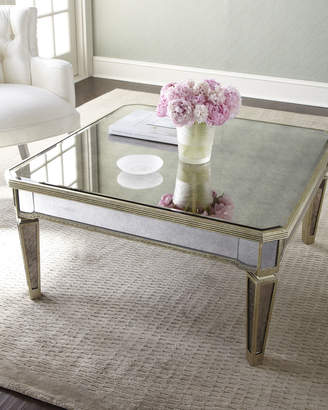 At Horchow Amelie Mirrored Coffee Table