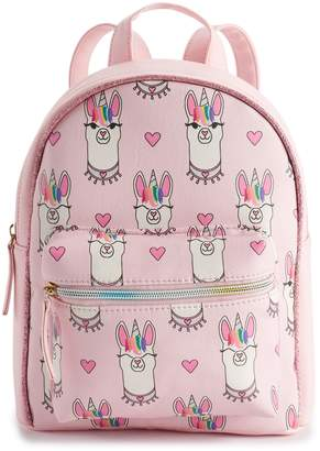 Omg Accessories OMG Accessories Llama Unicorn Mini Backpack