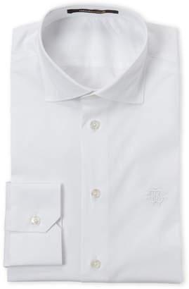 Roberto Cavalli White Comfort Fit Dress Shirt