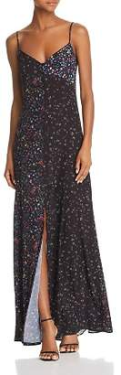 French Connection Aubine Floral Print Maxi Slip Dress