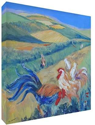 Camilla And Marc Feel Good Art Gallery Wrapped Nursery Box Canvas (Jayden, Large, 40 x 60 x 4 cm)