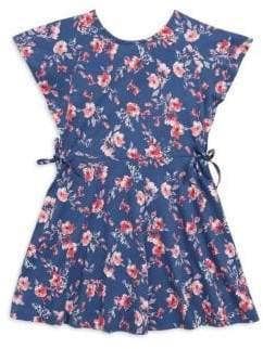 Splendid Girl's Floral-Print Cotton Dress