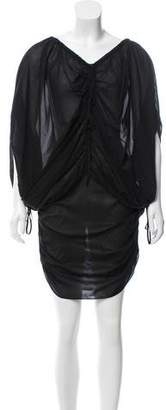 Robert Rodriguez Silk Oversize Dress