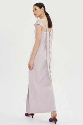Topshop **Crepe Bandeau Column Dress