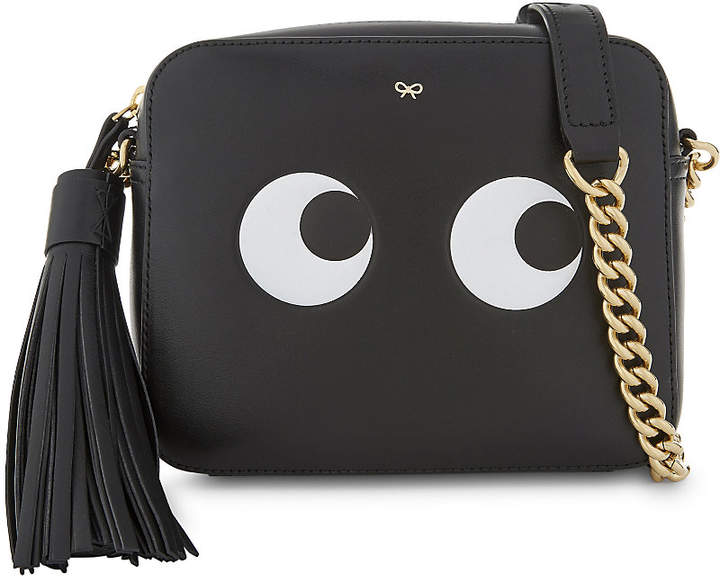 Anya Hindmarch Leather eyes design cross-body bag