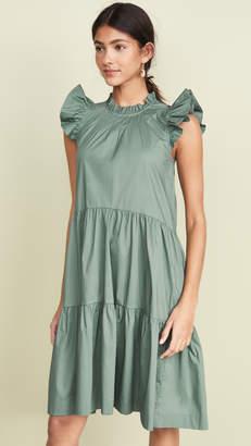Sea Waverly Tiered Tunic Dress