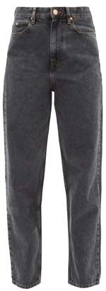 Etoile Isabel Marant Corsy High Rise Jeans - Womens - Black