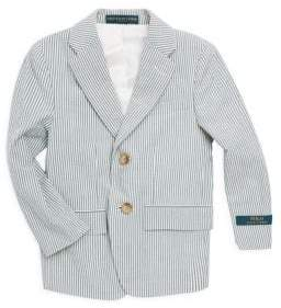 Ralph Lauren Toddler's, Little Boy's& Boy's Seersucker Sport Coat