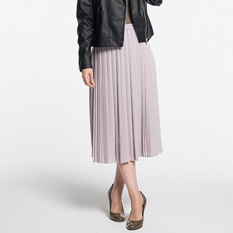 Women High Waist Chiffon Pleated Midi Skirt $29.90 thestylecure.com
